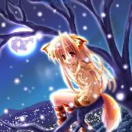 รูปของ winter princess girl