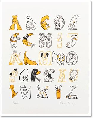 Dogilike.com :: ศิลป์อักษร! A-Z แปลงร่างเป็นน้องหมา