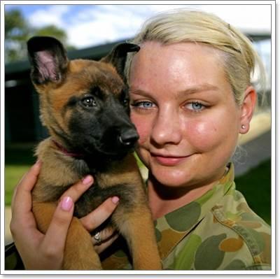 Dogilike.com :: ไปไหนไปกัน! รวมภาพประทับใจของเหล่าทหารกล้ากับสุนัข