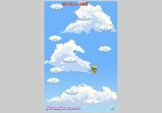 Dogilike.com :: กระโดดดึ๋ง ๆ บนก้อนเมฆ