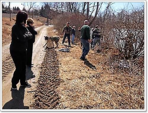 Dogilike.com :: วีรบุรุษ! ชายพลเมืองดีช่วยสุนัขตกทะเลสาบน้ำแข็ง