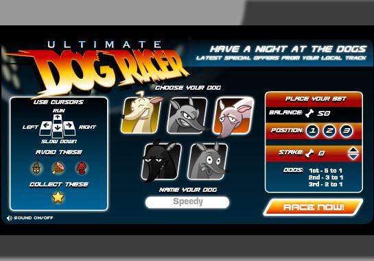Dogilike.com :: Dog Racer เจ้าตูบแข่งวิ่ง