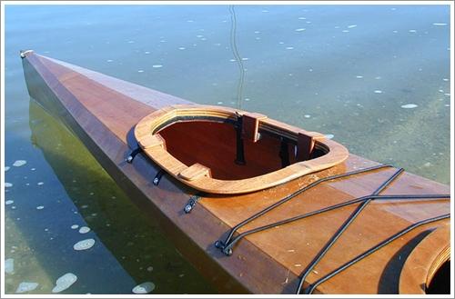Dogilike.com :: น่ารัก! คุณลุงปรับแต่งเรือคายัคให้ 2 โกลเด้นนั่งโดยสารไปด้วย