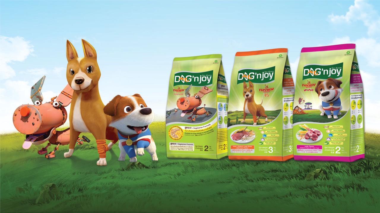 """Dogilike.com :: แจกฟรี! ตั๋วหนัง """"คุณทองแดงดิอินสไปเรชั่นส์"""" กับ อาหารสุนัขด็อกเอ็นจอยสูตรใหม่"""