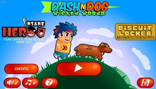 Dogilike.com :: Dash And Dog ลุย ๆ ข้ามสิ่งกีดขวาง