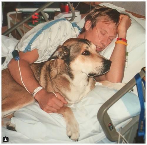 Dogilike.com :: น้ำตาซึม! เจ้าของเผยเรื่องซึ้ง เมื่อสุนัขสุดรักอยู่เคียงข้างต่อสู้โรคมะเร๊ง