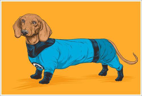 Dogilike.com ::  เท่สุดๆ! เมื่อศิลปินวาดภาพเจ้าตูบให้กลายเป็นเหล่าฮีโร เจ๋งแค่ไหนมาดูกัน