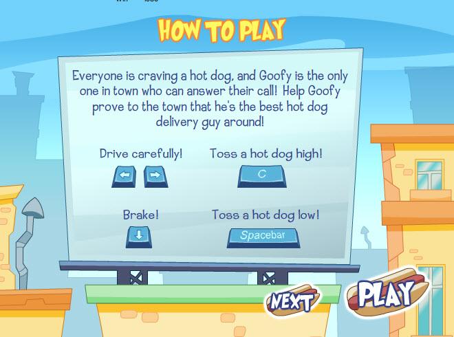 Dogilike.com :: Goofys Hot Dog Drop ส่งไส้กรอกตามสั่ง