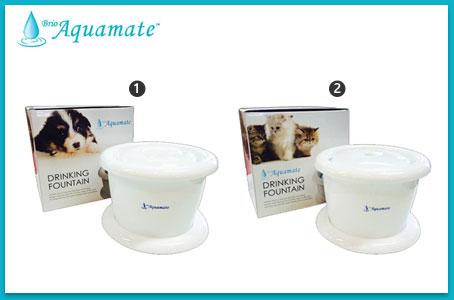 Brio Aquamate, Shawpet, ชอว์เพ็ท, น้ำพุน้องหมา, เครื่องให้น้ำน้องหมา, ภาวะขาดน้ำในสุนัข, ระบบน้ำวน , น้ำผุด, น้ำสะอาด, ปลอดภัย, ช่วยน้องหมากินน้ำน้อย, ให้น้องหมากินน้ำเยอะขึ้น,