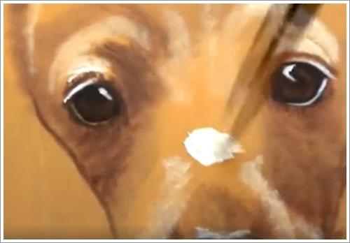 Dogilike.com :: ถ้าไม่บอกคิดว่าหมาจริง! ศิลปินมะกันโชว์ภาพวาด 3D เจ้าตูบดัชชุนสุดเจ๋ง (มีคลิป)