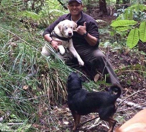 Dogilike.com :: สุดปลื้ม! ตูบตาบอดหลงทางกว่า 1 สัปดาห์ ทุกคนช่วยตามหาพบอยู่ในหุบเขา