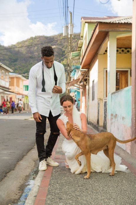 Dogilike.com :: เจ๋ง! คู่รักหนุ่มนักกีฬา NFL จัดงานแต่งงาน นำเงินช่วยเหลือหมาแมวจรจัด