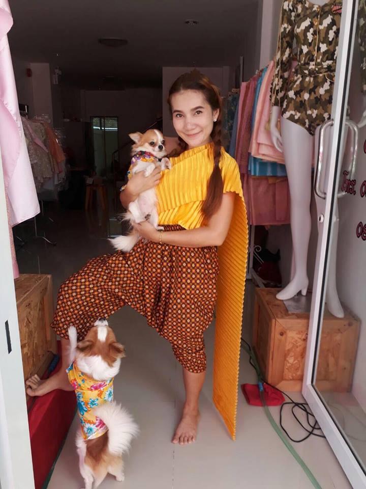 Dogilike.com :: สัมภาษณ์พิเศษ ... คุณดาววี่ ว่าที่คุณแม่มือใหม่ กับข้อคิดดี ๆ มีลูกไม่ทิ้งหมา