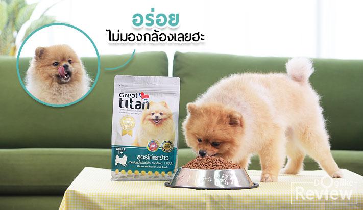 Dogilike.com :: ดูแลเพื่อนผู้ซื่อสัตย์ให้ดีที่สุดด้วยอาหารสุนัข Great titan