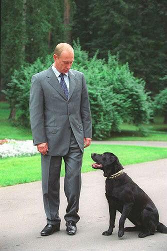Dogilike.com :: 5 ผู้นำคนดังกับน้องหมาตัวโปรดของเขา