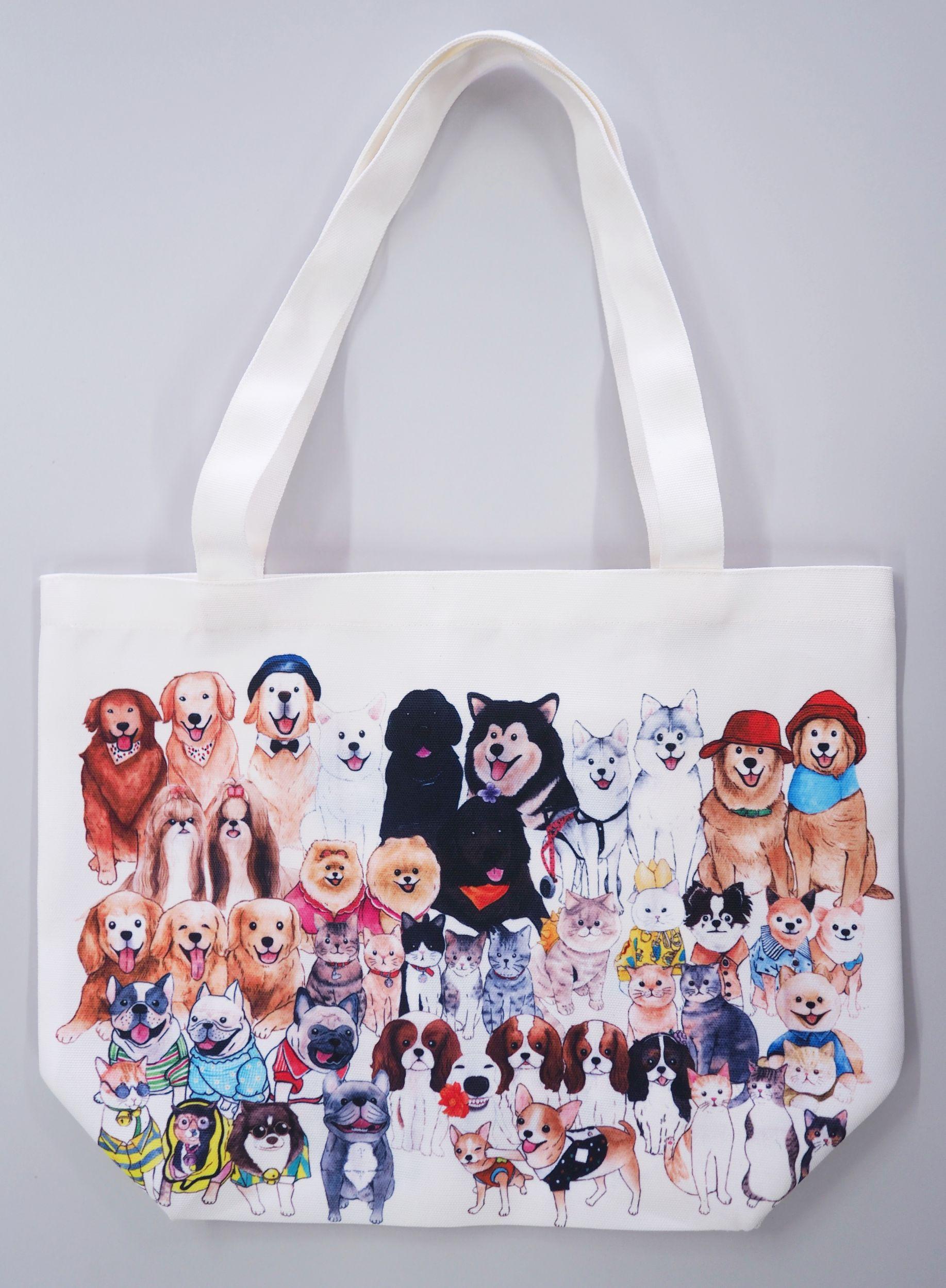 Dogilike.com :: รพส.ทองหล่อ จัดแคมเปญครบรอบ 25 ปี จับมือเพจหมา-แมวเซเลบ ประมูลถุงผ้าช่วยหมาจรจัด