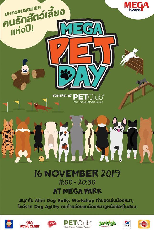 Dogilike.com :: เมกาบางนาจัดกิจรรมน่ารัก เมกา เพ็ท เดย์ งานรวมพลคนรักสัตว์เลี้ยงแห่งปี