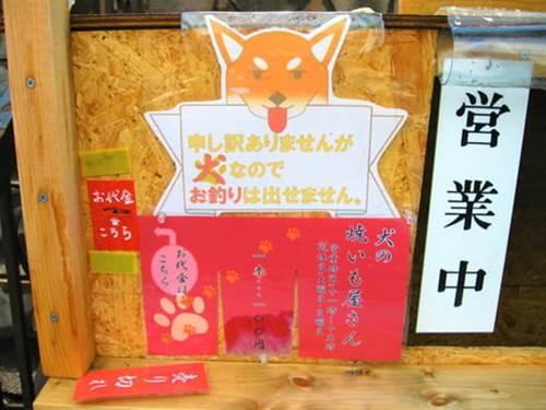 Dogilike.com :: พ่อค้าน่ารัก! ชิบะแสนรู้เฝ้าร้านขายมันหวานอบที่ญี่ปุ่น