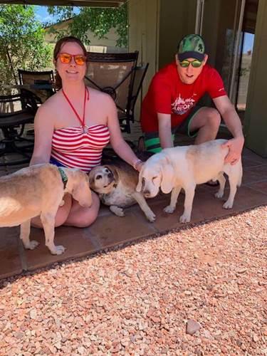 Dogilike.com :: หมาหรือขนุน! บีเกิ้ลหนัก 40 กิโลฯ ถูกจับเข้าคอร์สรีดน้ำหนักด่วน