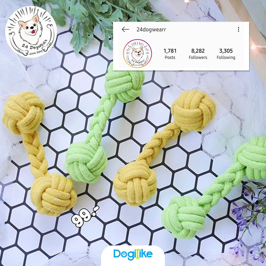 Dogilike.com :: Review 10 ของเล่นสุดคิ้วท์ เสริมทักษะให้น้องหมา จากร้านใน Instagram