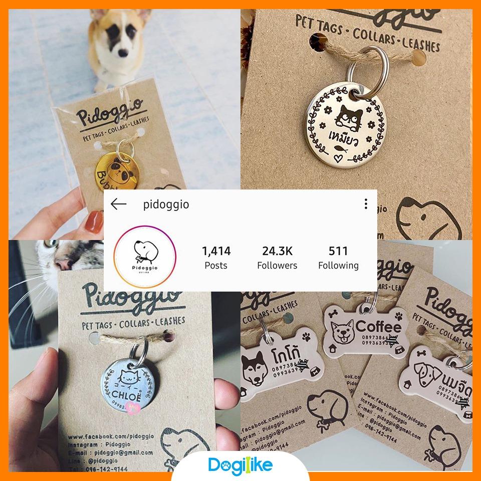 Dogilike.com :: Review 10 ร้านทำป้ายชื่อห้อยคอตูบ ราคาเบา ๆ จาก Instagram