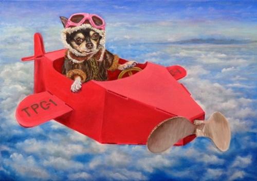 Dogilike.com :: สาวป่วยซึมเศร้าวาดรูปชิวาวาท่องเที่ยวไปที่ต่างๆ สร้างแรงบันดาลใจ