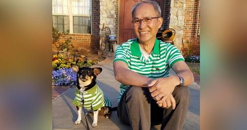 Dogilike.com :: ไวรัลชวนยิ้ม! เผยภาพ คุณพ่อ คนนี้แหละที่บอกว่าจะไม่เลี้ยงหมา