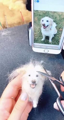 Dogilike.com :: กำลังฮิต! ตุ๊กตาเจ้าตูบทำจากเส้นขนจริง เหมือนจนต้องร้องว้าว