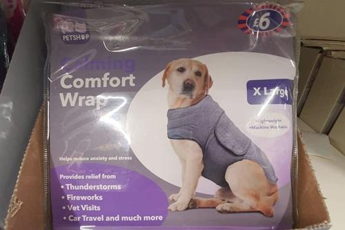 Dogilike.com :: อังกฤษเปิดตัว Comfort coat เสื้อสำหรับตูบกลัวฟ้าร้อง เสียงพลุ!