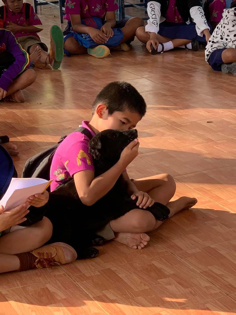 Dogilike.com :: เอ็นดู ครูสาวเล่าเรื่องราวสุดน่ารักของนักเรียนที่แอบพาหมามาโรงเรียน