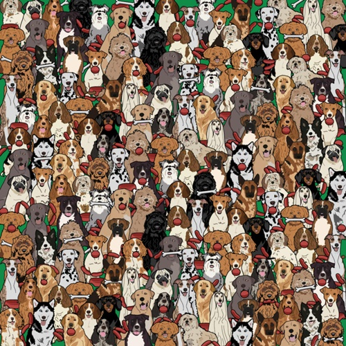 Dogilike.com :: ชวนจับผิดภาพ หาน้องหมาขโมยไส้กรอก!
