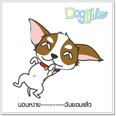 Dogilike.com :: มาดูน้องหมาบอกรักผ่านภาษากายกัน
