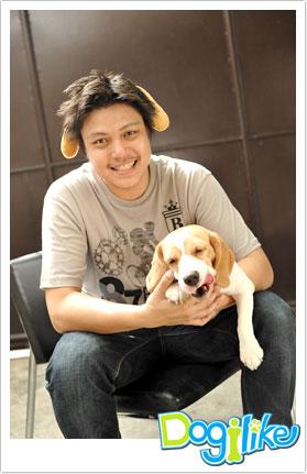 พี่ปูมกับปุ๊บปั๊ป สุนัขพันธุ์บีเกิ้ล  Dogilike