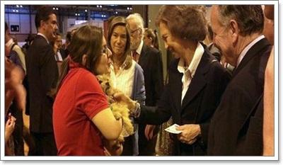 Dogilike.com :: ชาวโลกซึ้ง! ราชินีสเปนรับเลี้ยงสุนัขจรจัด