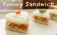 D.I.Y Yummy Sandwich แซนด์วิชผักรวม