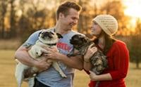 รวมภาพน้องหมากับคู่รักออกเดทกันน่ารักกุ๊งกิ๊ง