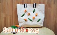 D.I.Y Summer Bag กระเป๋าดอกไม้รับหน้าร้อน