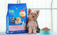 อาหารสมาร์ทฮาร์ท® ลูกสุนัขพันธุ์เล็ก สารอาหารครบถ้วนเพื่อการเติบโตสมวัย