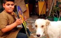 เด็กชายวัย 9 ปีประกาศขายสเก็ตบอร์ดสุดหวง ช่วยชีวิตหมาจรจัดขาหัก