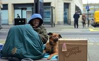เราจะไม่ทิ้งกัน! รวมภาพความผูกพันระหว่างคนไร้บ้านกับสุนัขคู่ใจในลอนดอน