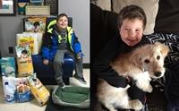 หนูน้อยป่วยเนื้องอกในสมองจัดงานวันเกิด 6 ขวบเพื่อช่วยเหลือสุนัข !!
