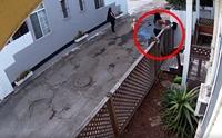 วงจรปิดเผยหญิงทิ้งลูกสุนัขไว้หลังบ้านคนอื่น ก่อนวิ่งหัวเราะไปหน้าตาเฉย