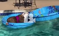 หนูจะเล่นน้ำแบบนี้เหรอลูก !!