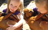 ชวนยิ้ม! คลิปหนูน้อยร้องเพลงกล่อมลูกหมาที่มีคนดูกว่า 22 ล้านวิว