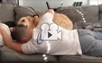 กล้าดียังไงมานอนกอดกันโดยไม่มีตูบ !!