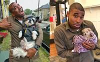 สีสันวันทำงาน! หนุ่มส่งของ UPS ถ่ายรูปกับสุนัขทุกตัวที่ได้เจอ