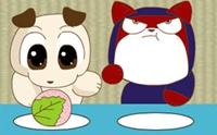 ขอท้า!! มาแข่งกินโมจิ
