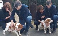 กลั้นน้ำตาไม่อยู่! เจ้าของดีใจได้พบสุนัขที่ถูกขโมยไปกว่า 6 ปีอีกครั้ง