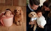 น่ารัก! ภาพครอบครัวอบอุ่นขึ้นเมื่อมีน้องหมาสมาชิกคนสำคัญ