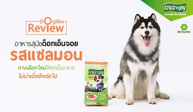 อาหารสุนัขด็อกเอ็นจอย รสแซลมอน ทางเลือกใหม่ให้ทุกมื้ออาหารไม่น่าเบื่ออีกต่อไป